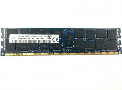 Оперативна пам'ять Fujitsu DDR3-RAM 16GB PC3L-12800R ECC 2R LP (HMT42GR7MFR4A-PB) Refurbished