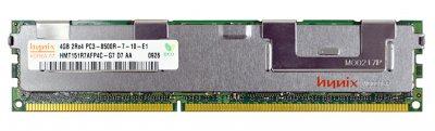 Оперативна пам'ять Fujitsu DDR3-RAM 4GB/PC3-8500R/ECC/2R (HMT151R7AFP4C-G7) Refurbished