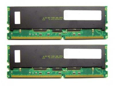 Оперативная память IBM DDR-RAM 2GB Kit 2x1GB/PC1600R/ECC/CL2 (33L3285) Refurbished