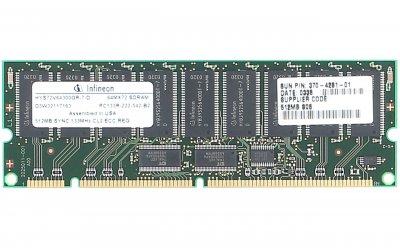 Оперативна пам'ять Sun Microsystems Memory 512MB DIMM SDRAM (X7092A-OEM) Refurbished