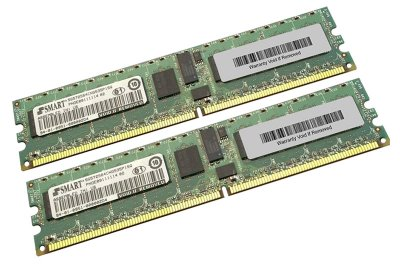 Оперативна пам'ять NetApp DDR2-RAM 4GB Kit 2x2GB PC2-5300R ECC 2R (107-00094+A0) Refurbished