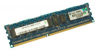 Оперативна пам'ять HP DDR3-RAM 4GB PC3-10600R ECC 1R (591750-571) Refurbished