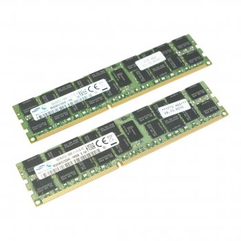 Оперативна пам'ять Fujitsu DDR3-RAM 32GB Kit 2x16GB PC3L-12800R ECC 2R LP (38035414) Refurbished