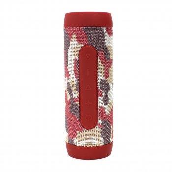 Колонка ZEALOT S22 Red Camouflage 3Вт портативна блютуз 4000 маг Радіо Гучний зв'язок
