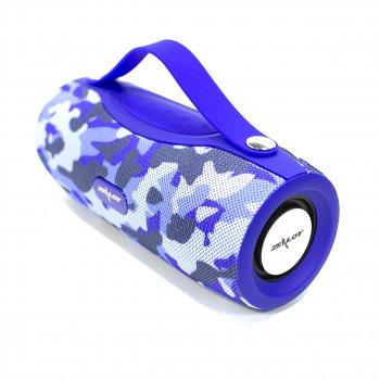 Колонка ZEALOT S29 Blue Dark blue Camouflage портативная 10 Вт 2000 мАч 10 метров USB TF карта fm-радио фонарик