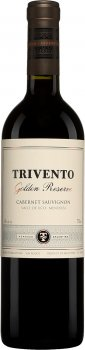 Вино Trivento Golden Reserve Cabernet Sauvignon красное сухое 0.75 л 14% (7798039597815)