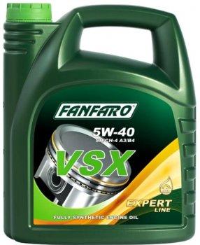 Моторна олива FanFaro VSX SAE 5W-40 4 л (669/4)