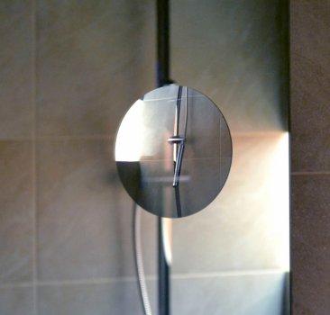 Зеркало J-MIRROR Diana 80х80 LED + линза без подсветки + подогрев
