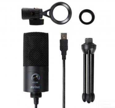 Студійний конденсаторний мікрофон FIFINE K669