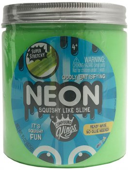Лизун Compound Kings Slime Neon Зеленый 425 г (110273_3) (2000000107011)