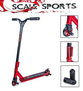 Трюкової самокат Scale Sports STORM червоний