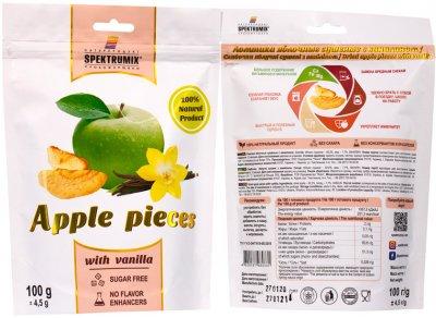 Упаковка скибочок яблучних з ваніллю Spektrumix 2 шт. х 100 г (2000000006116)