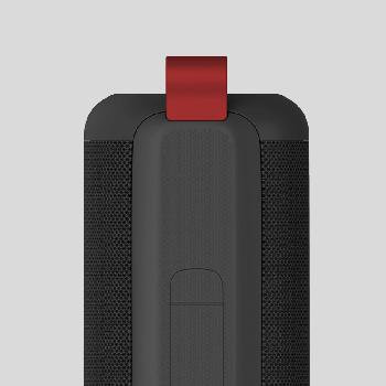 Портативна колонка Havit HV-E30 black/red