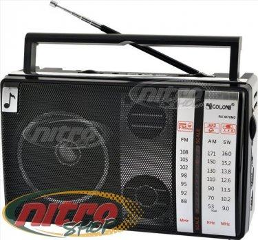 Радиоприемник Golon RX - M70 BT Блютуз от сети и батареек, Радиоколонка MP3 переносная