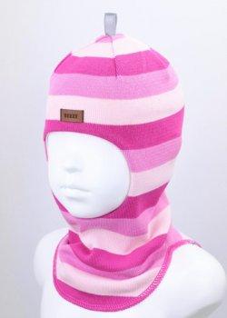 Шапка-шлем детский для девочки Beezy весна - осень 1514-25-20 модель Рыцарь р. 1 (47-49 см)