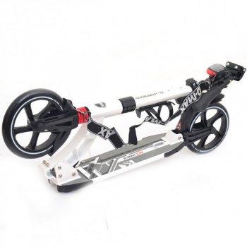 Двоколісний Самокат Scale Sports міської SR 2-014 алюмінієвий Чорний