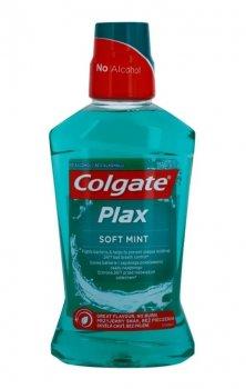 Colgate Plax Soft Mint рідина для полоскання ротової порожнини проти нальоту (500 мл)