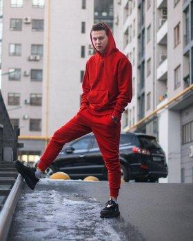 Спортивные штаны Over Drive Jog красные
