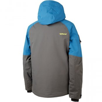Куртка Rehall Flow Серый-Голубой