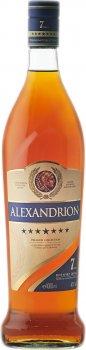 Міцний алкогольний напій Alexandrion 7* 1 л 40% (5942122000177)