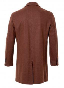 Пальто Pierre Cardin з вовни мериносів Коричневе (3930/7500)