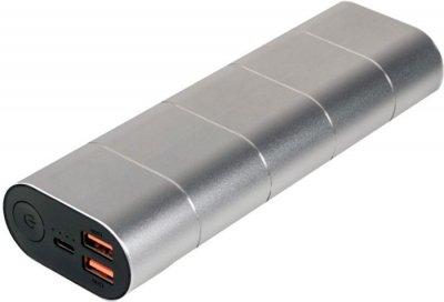 УМБ Verbatim 20000 mAh Silver Metal (49574)