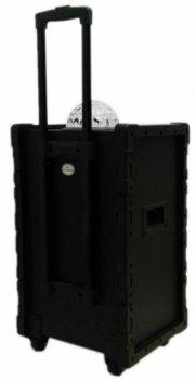 Колонка акумуляторна DMS K10-10FZ Bluetooth, USB, MP3, Wireless LED
