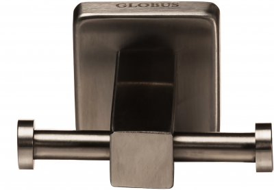 Крючок двойной GLOBUS LUX SQ9412 квардрат нержавейка SUS304