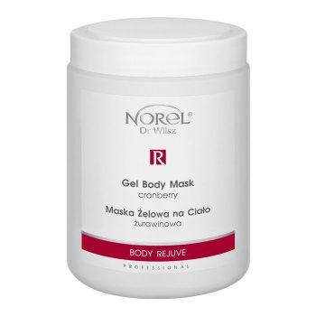 Маска для тела Norel Cranberry Gel Body Mask 1000 мл