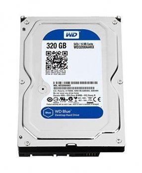 "Б\У Жорсткий диск Western Digital, 320ГБ, 7200об/м, 8МБ, 3.5"",SATA II, WD3200AAJS"