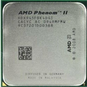 Б/У, Процесор, AMD Phenom II X4 945, 3.0 GHz, 6MB, socket AM3