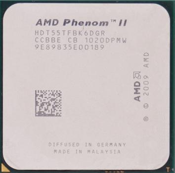 Процессор AMD Phenom II X6 1055T 2.8-3.3 GHz (HDT55TFBK6DGR) AM3 Б/У