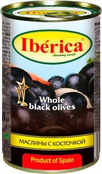 Маслины Iberica огромные с косточкой 360 г (8436024294392)