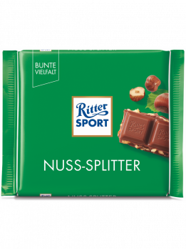 Шоколад Ritter sport Nuss Splitter Hazelnuts 100 g