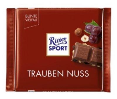 Шоколад Ritter Sport Trauben Nuss 100 g