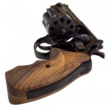 Револьвер під патрон Флобера Zbroia PROFI 4.5 (чорний/бук)