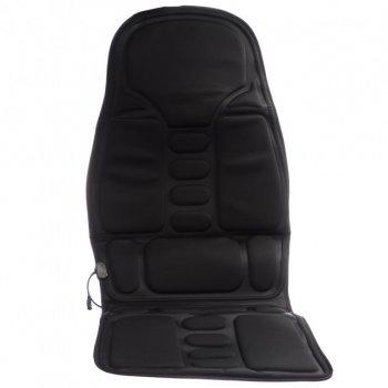 Универсальная массажная накидка с подогревом для автомобиля HBB Massage Robot Cushion Pro Черный