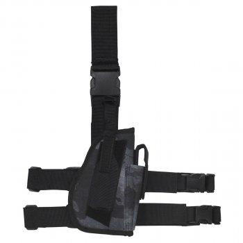 Кобура для пистолета набедренная регулируемая правосторонняя MFH HDT-camo LE (30725H)