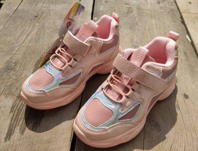 Кросівки для дівчинки Сонце ZY376-2F рожевого кольору