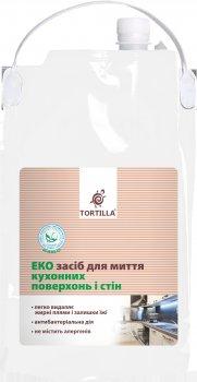 Эко средство для мытья кухонных поверхностей и стен TORTILLA с антибактериальным действием 4.7 л (4820178062497)