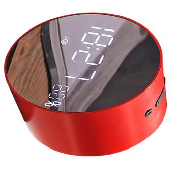 Акустична система з Bluetooth JoyRoom JM-R8 Alarm Clock Red (25057)