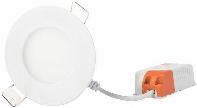Точковий світильник Евросвет 3 Вт 6400 K LED-R-90-3 (39168)