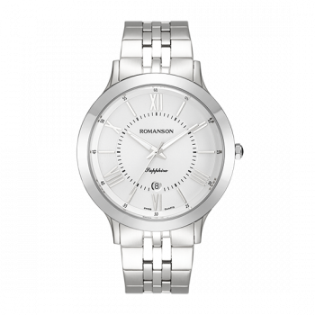 Мужские часы Romanson TM7A05MMWW1R2 (TM7A05MWH WH)