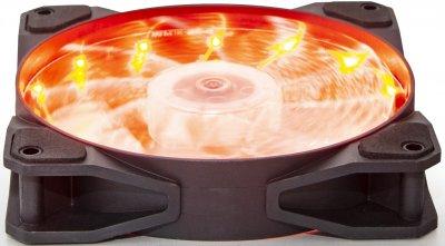 Кулер Frime Iris LED Fan 15LED Orange (FLF-HB120O15)