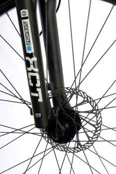 "Жіночий електровелосипед E-motion City GT 27,5"" 36v 12Ah 500w / рама 19"" чорно-червоний (EMCGT275CK)"