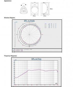 Настенная акустическая система ITC T-776SW