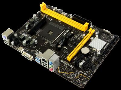 Материнська плата Biostar A320MH (sAM4, AMD A320, PCI-Ex16)