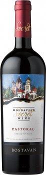 Вино Bostavan Pastoral Кагор червоне десертне 0.75 л 16% (4840472020245)
