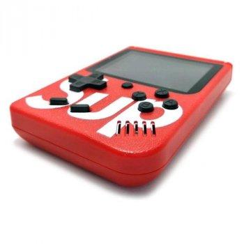 Портативная игровая ретро приставка SUP Game Box 400 игр Dendy 8bit SUP Game Box Red (SUP400)