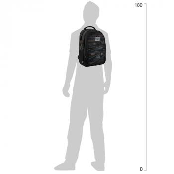 Рюкзак шкільний GoPack Education унісекс 475 г 43x30x16 21 л Stripes (GO20-133M-2)